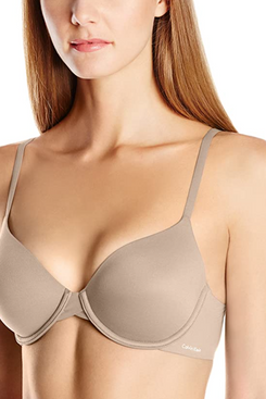 Calvin Klein Women's Perfectly Fit Lightly Lined Memory Touch T-Shirt Bra