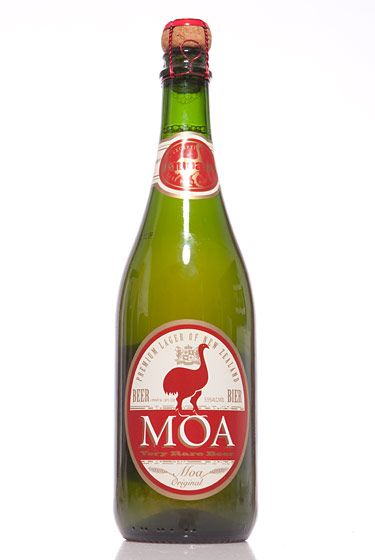 "Moa Brewing Company (New Zealand)<br>$7 for 25 oz. <br><strong>Type: </strong>German Pilsner<br><strong>Tasting notes:</strong> ""Very light and refreshing; a great barbecue beer."" <br>—Hilton Ariel Ruiz, co-owner, New Beer Distributors<br> <br>"