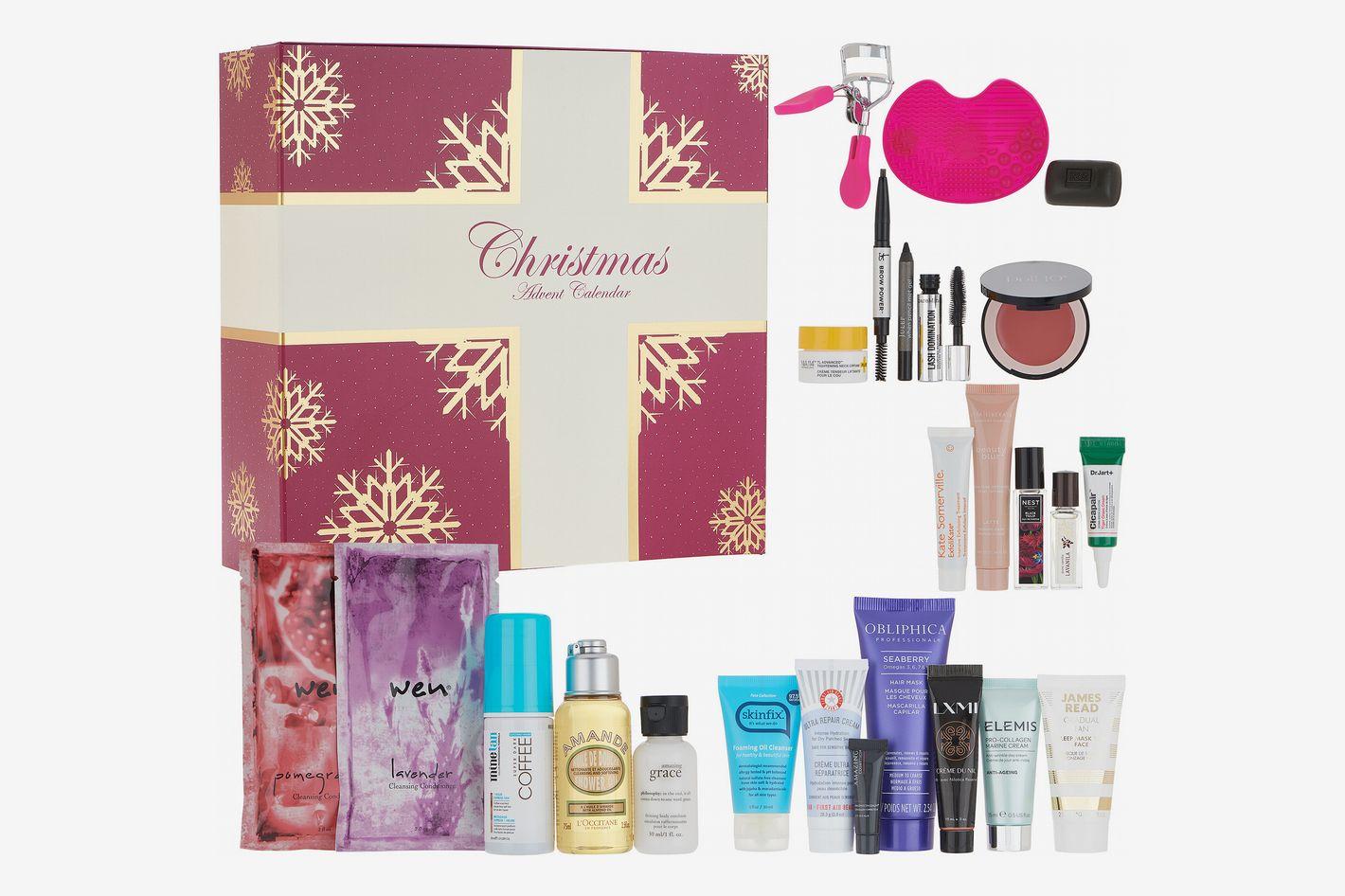 QVC Beauty Christmas Advent Calendar 24-Piece Collection