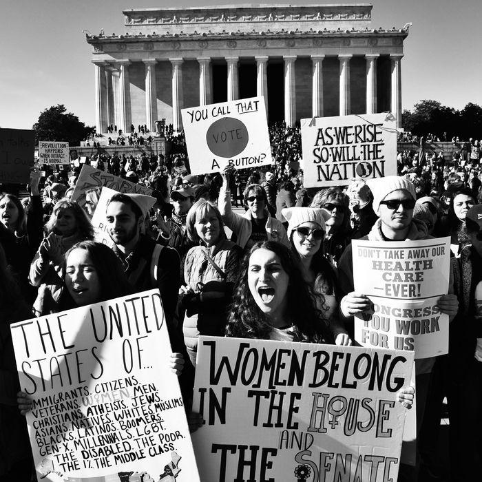 Women's March 2018.