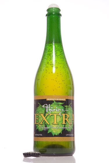 "Brasserie Thiriez (France)<br>$15 for 25.4 oz. <br><strong>Type:</strong> Saison<br><strong>Tasting notes:</strong> ""Rich, hoppy, and deeply flavorful, but still drinkable."" <br>—Lauren Canelli, manager, Spuyten Duyvil Grocery<br>   <br>"