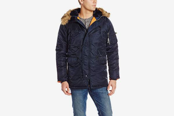 Alpha Industries Men's N-3B Slim-Fit Parka Coat