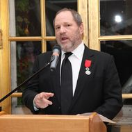 """Producer Harvey Weinstein attends a reception for the screening of """"The Intouchables"""" at the French Embassy on April 30, 2012 in New York City."""