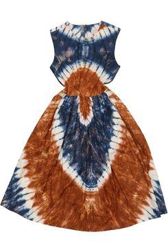 Royal Jelly Harlem Genevieve Midi in Tie Dye