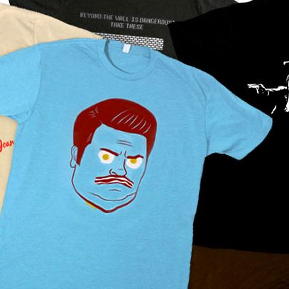 b1a2e0b2d Holiday Shopping: 'Tis the Season to Buy T-Shirts Based on Your Favorite TV  Shows