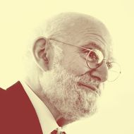 USA - Pfizer Research Laboratory Opening - Author and Neurologist Oliver Sacks
