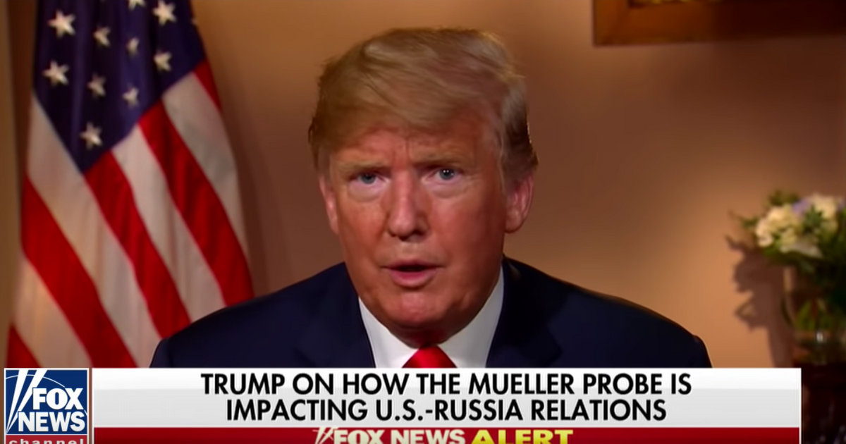 Trump on Hannity: We Know There's No Russia Collusion, Because Putin Said So