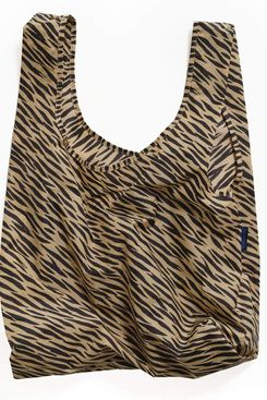 BAGGU Standard Reusable Shopping Bag, Tiger Stripe