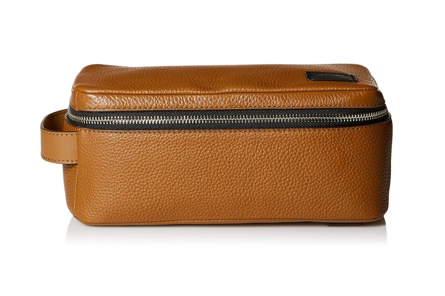 Jack Spade Pebbled Leather Dopp Kit