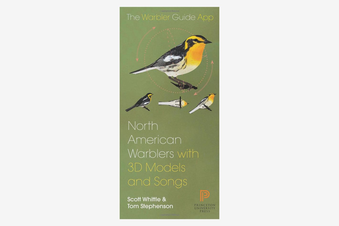 North American Warbler Fold-out Guide: Folding Pocket Guide (with App)