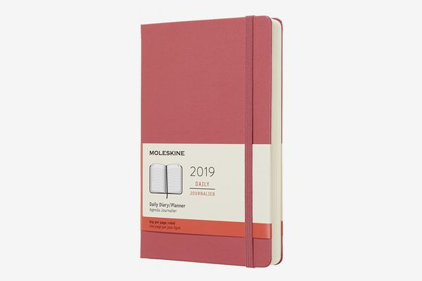 Moleskine Classic 12 Month 2019 Daily Planner, Hard Cover