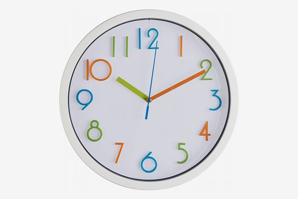 Bernhard Products Colorful Wall Clock