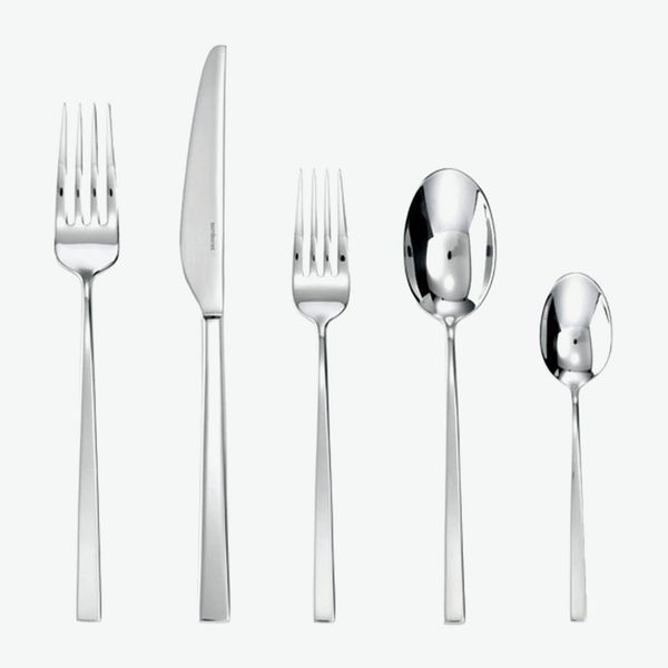 Sambonet Linea Q 18/10 Stainless-Steel Five-Piece Place Setting