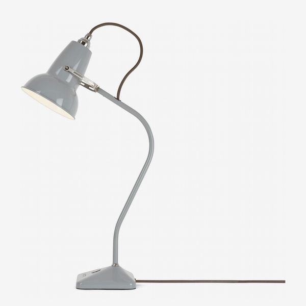 Anglepoise Original 1227 Mini Table Lamp - Dove Grey with Grey Cable