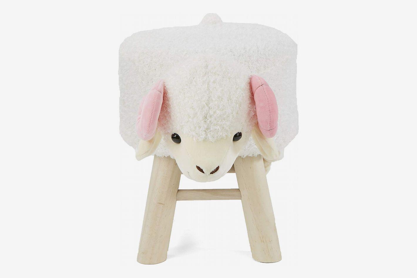 Mind Reader Sheep Stool