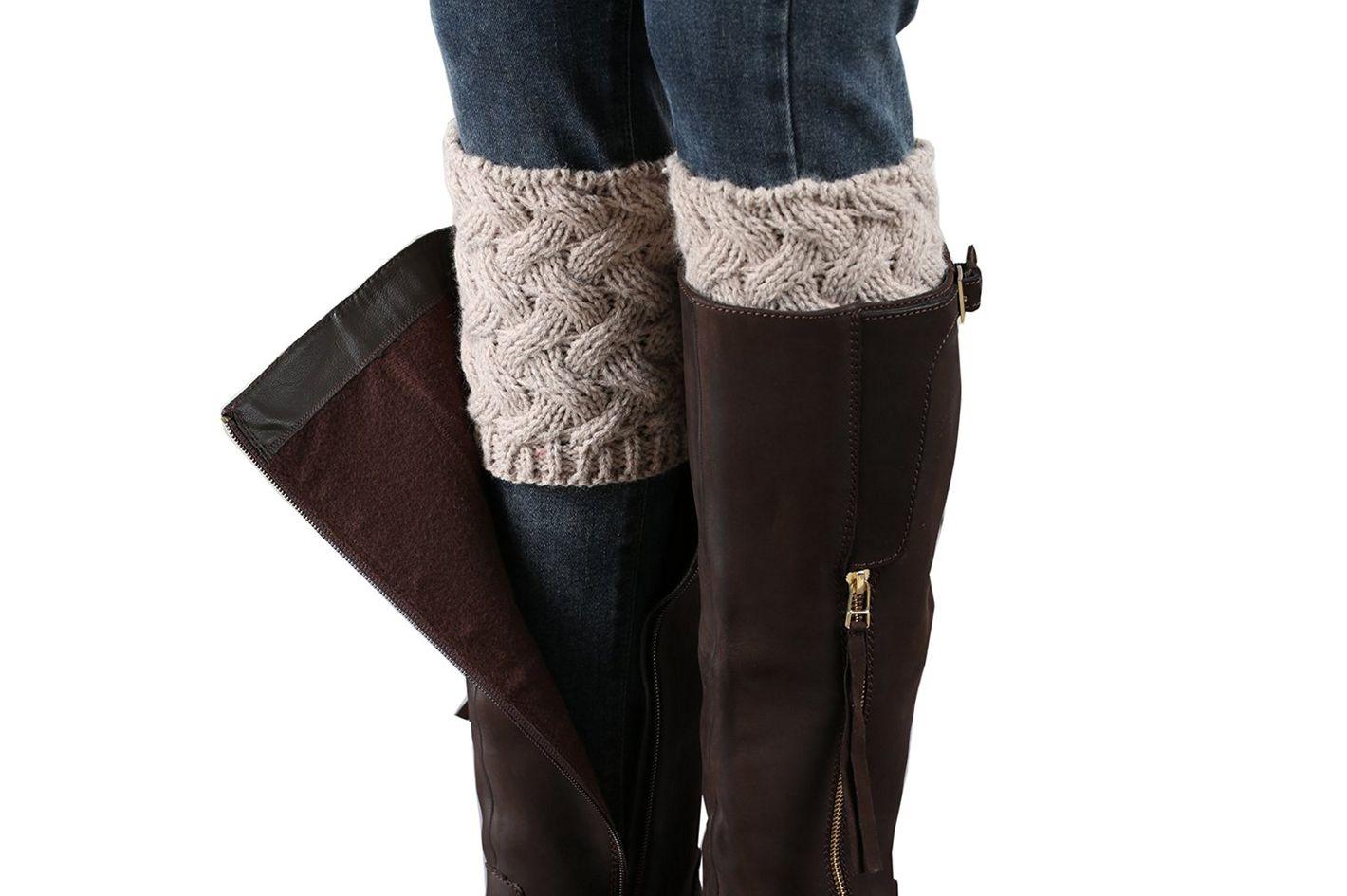 Faybox Women Boot Cuff Leg Warmers