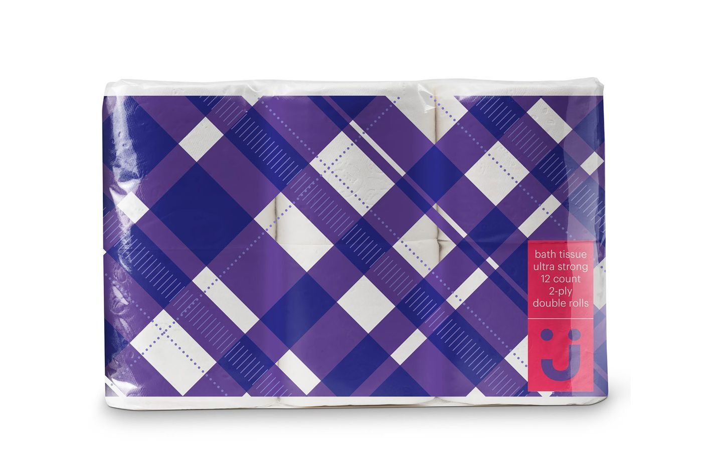 Uniquely J Ultra Strong Toilet Paper, 12 Double Rolls