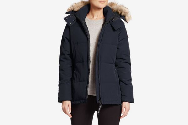 Canada Goose Chelsea Fur-Trimmed Parka