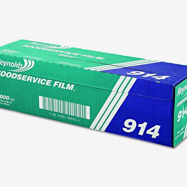 Reynolds Wrap 914 PVC Film Roll With Cutter Box, 18-Inch