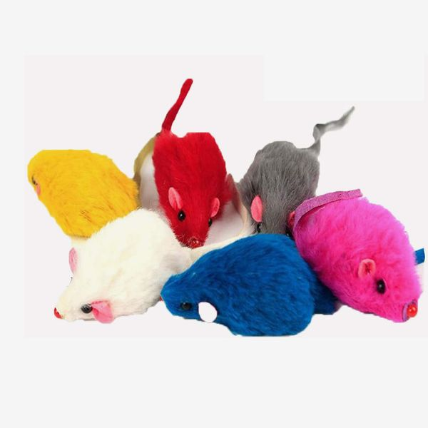 Kissmi Rattle Mice Cat Toy, 20-Pack