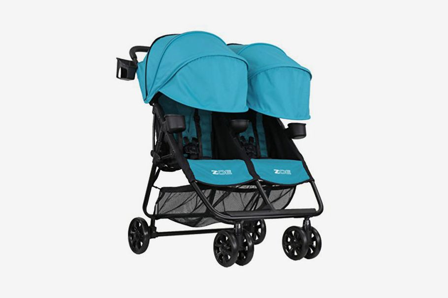 ZOE XL2 BEST v2 Lightweight Double Travel Stroller