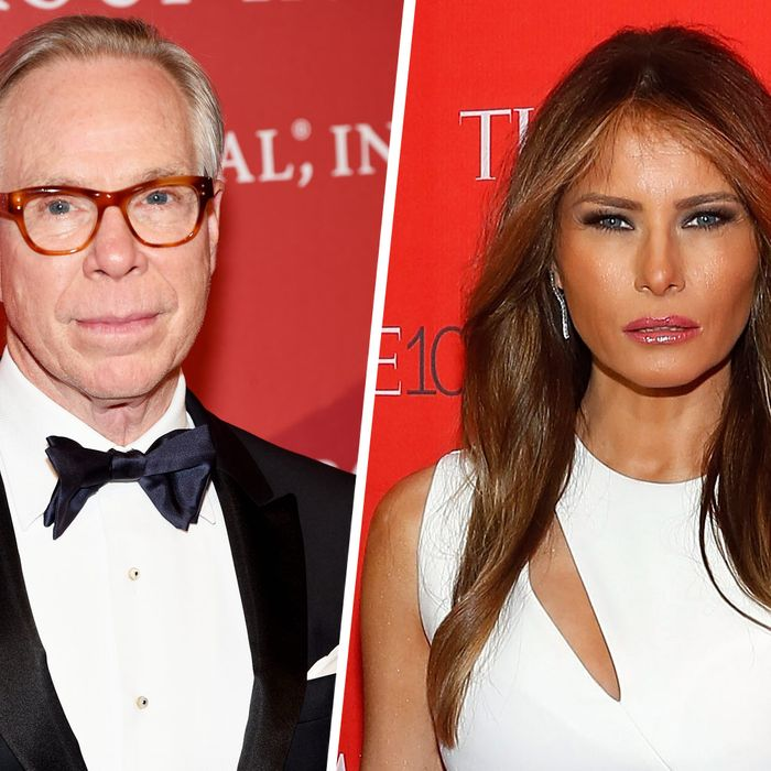 21ee9d654 Tommy Hilfiger on Melania Trump: 'Any Designer Should Be Proud to Dress Her'