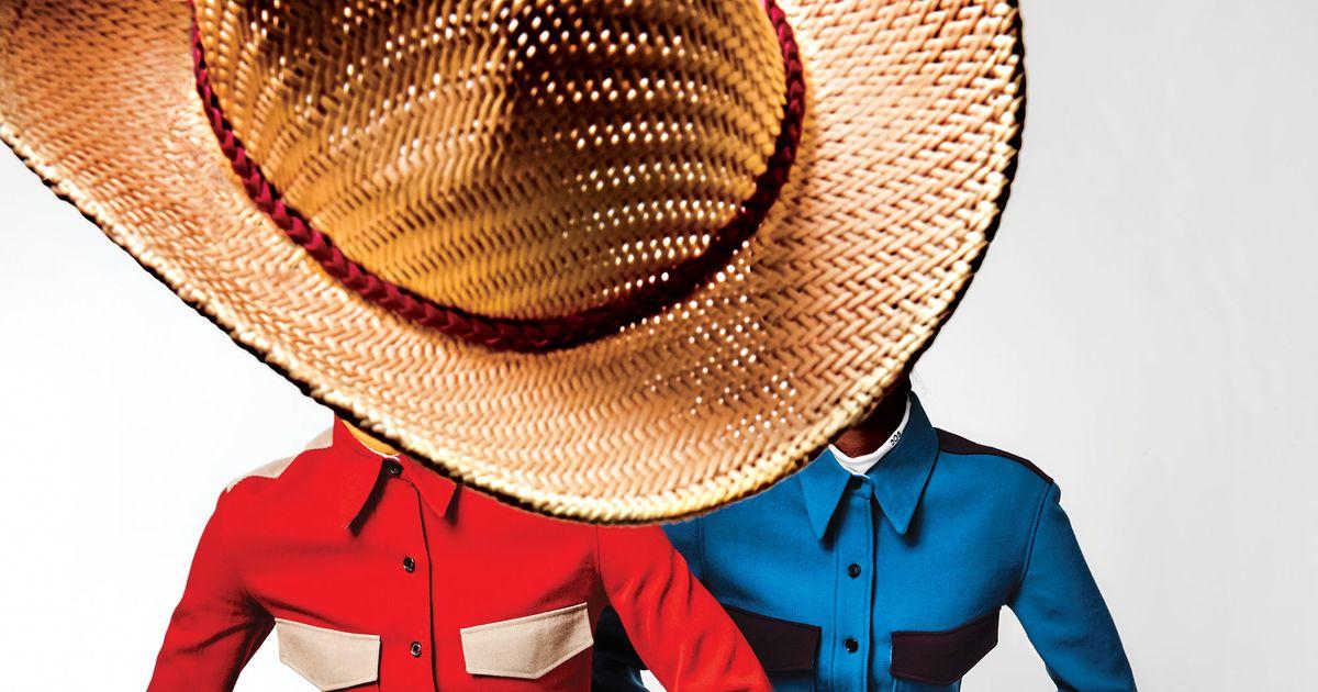 13ecbc8ca73 Calvin Klein by Raf Simons Western Fashion Fall 2017