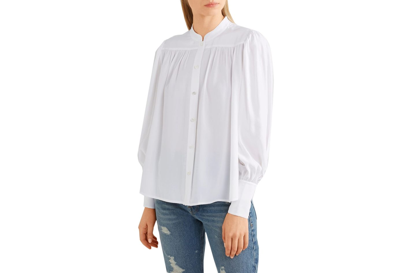 Frame Chloe silk blouse