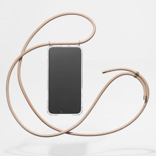 Knok Natural Leather Phone Necklace
