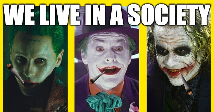 What Is Gang Weed The Joker Meme About Society