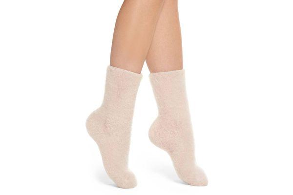 Lemon Fog Winter Socks