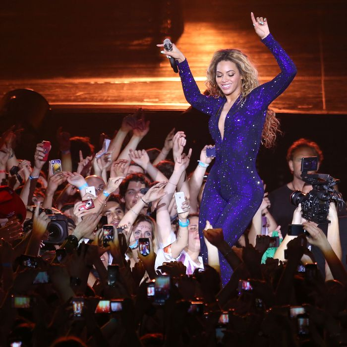 Beyonce, not pregnant.