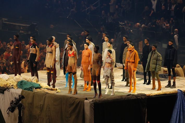 Yeezy Season 3. Photo: JP Yim/Getty Images for Yeezy Season 3