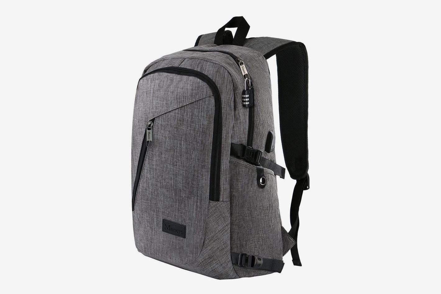8a416b79d4 Mancro Laptop Backpack at Amazon