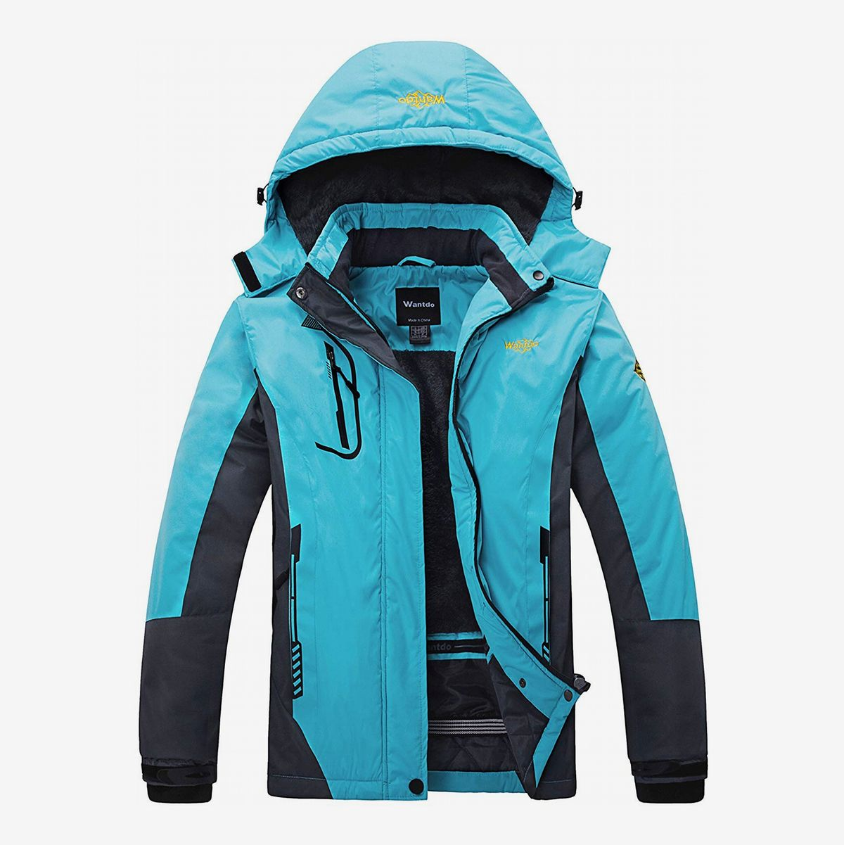 Womens Winter Hooded Parka Jackets Outerwear Ladies Winter Chunky Puffer Coats@