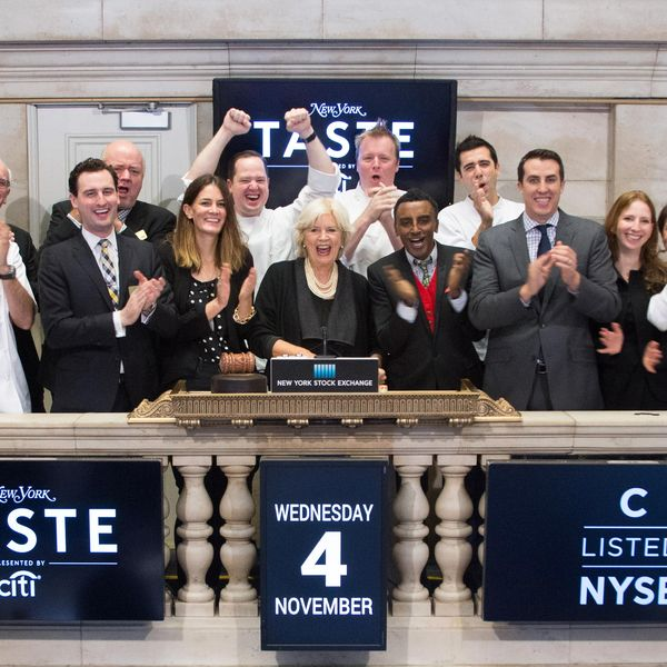 New York Recruited Famed Chefs to Help Open the NYSE This Morning