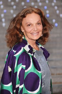 Designer Diane von Furstenberg attends the 2012 Tribeca Film Festival at the State Supreme Courthouse on April 17, 2012 in New York City.