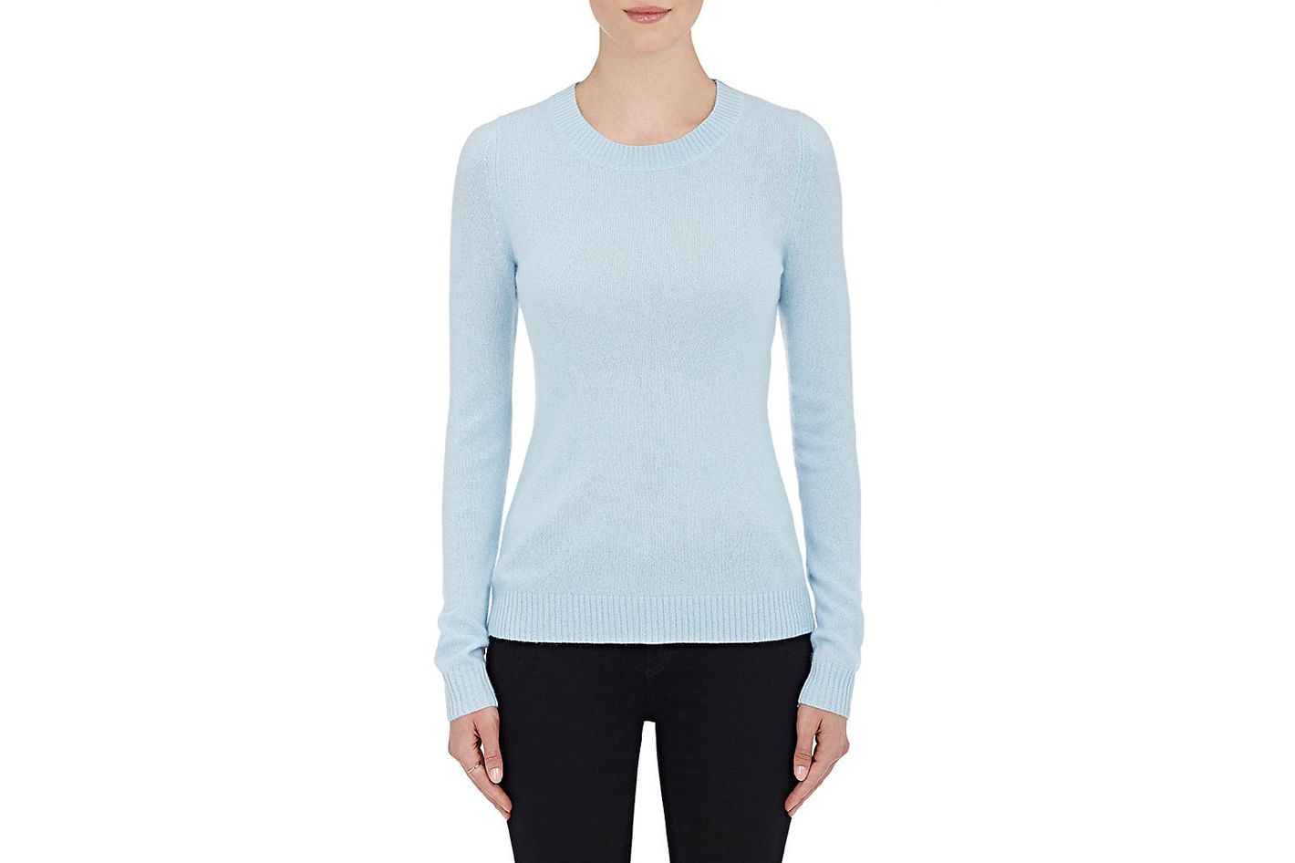 Barneys New York Cashmere Crewneck Sweater