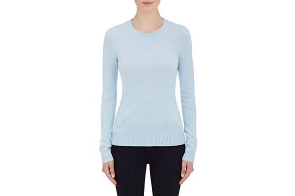 Barneys New York Cashmere Crewneck Sweater