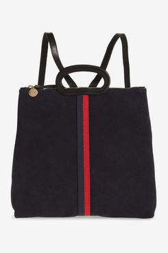 Clare V. Marcelle Suede Tote Backpack