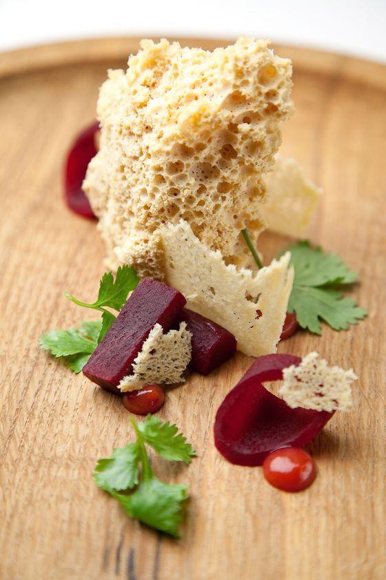 Aerated foie gras.