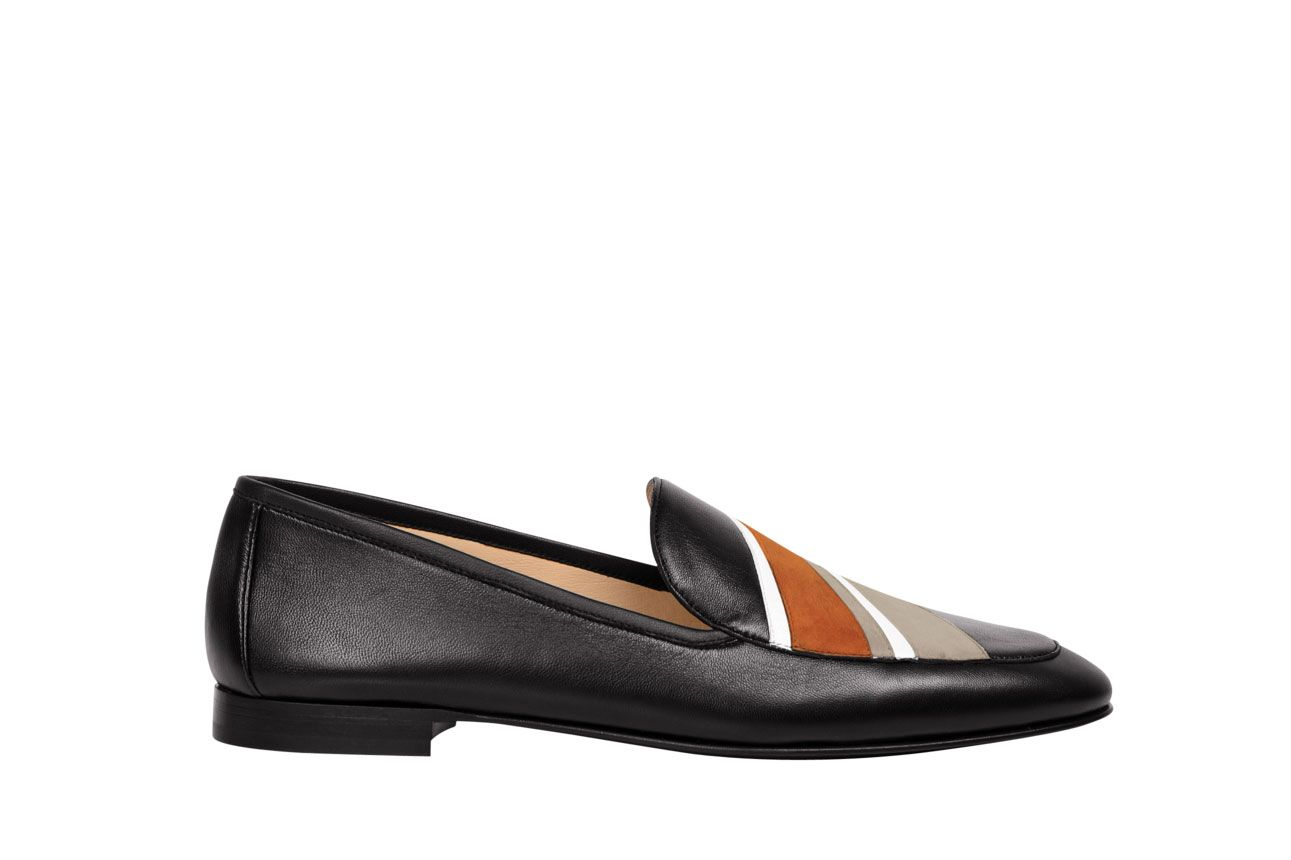 Longchamp Le Pliage Cuir Loafers
