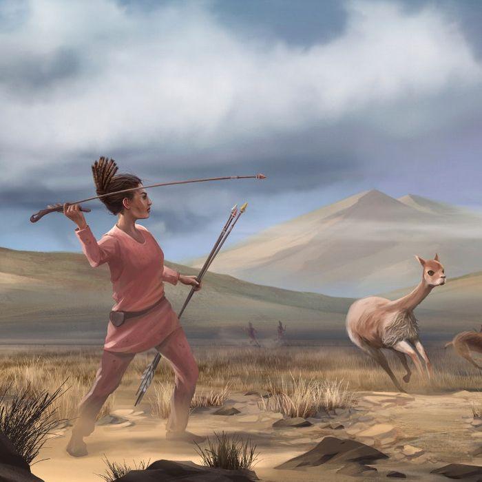 Our unrecognized female huntress.