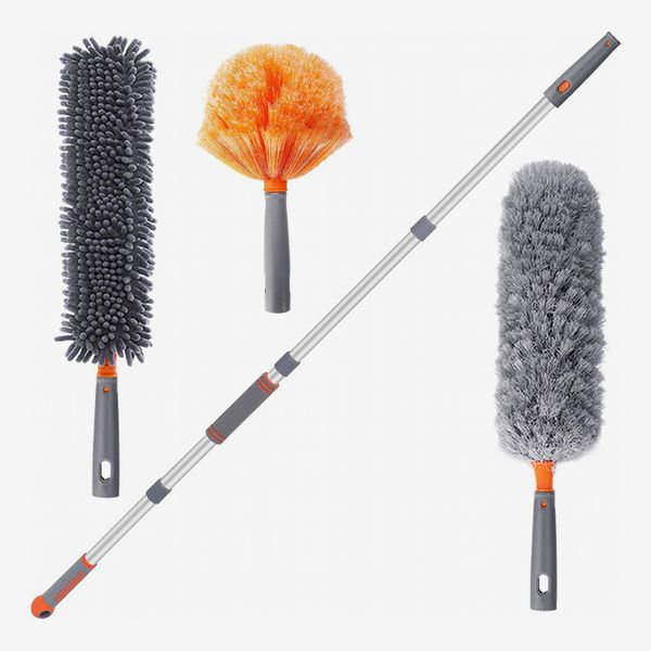 Baban Microfiber Duster for Cleaning with Extension Pole