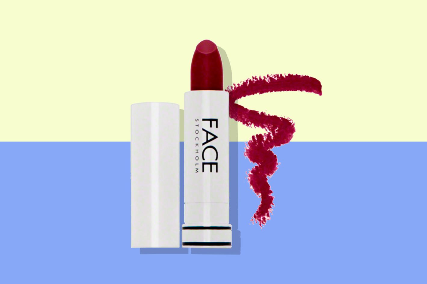 Save  Authorized Retailer Face Stockholm Veil Lipstick in Cranberry