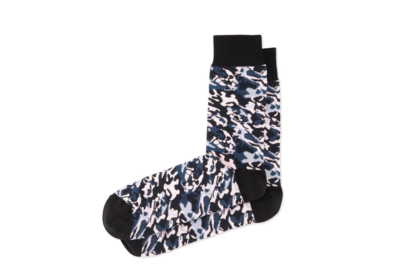 Alexander McQueen camo print socks