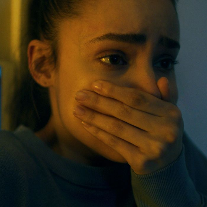 Sofia Carson in the pandemic thriller Songbird