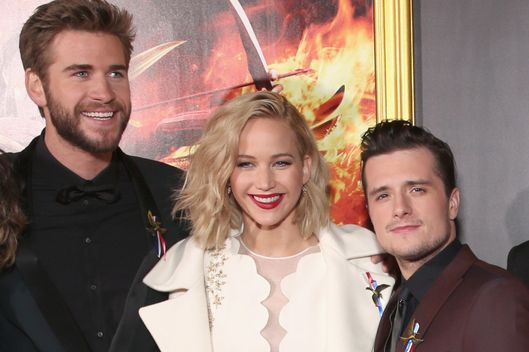 "Premiere Of Lionsgate's ""The Hunger Games: Mockingjay - Part 2"" - Red Carpet"