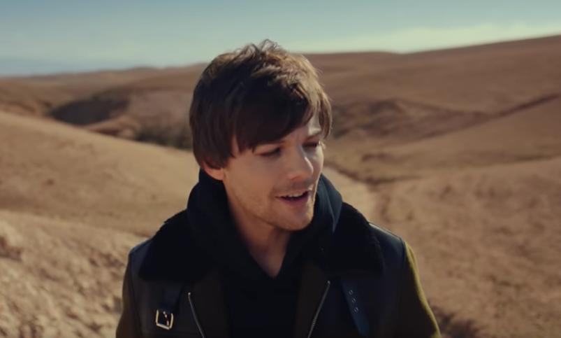 Louis Tomlinson Wanders the Desert in 'Walls' Music Video