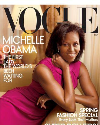 Michelle Obama's 2009 cover.